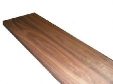 Solid American Black Walnut Floating Shelf - 35mm Thick